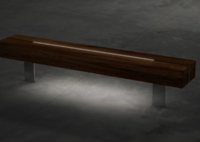 Bench with Lighting