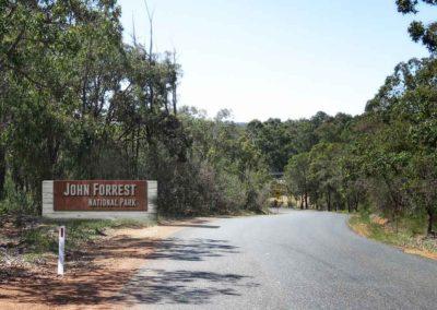John Forrest National Park Signage
