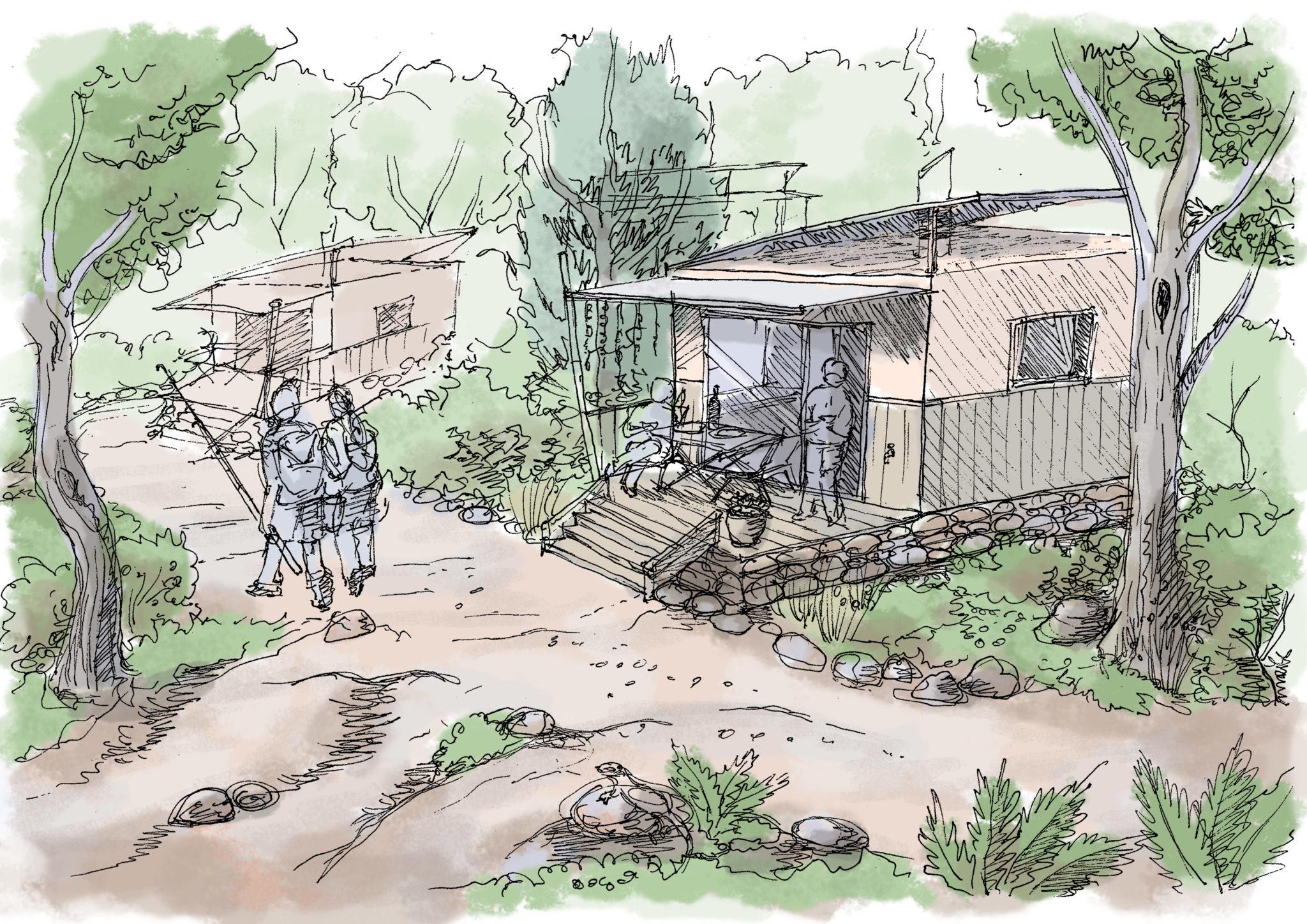 Prefab huts copy