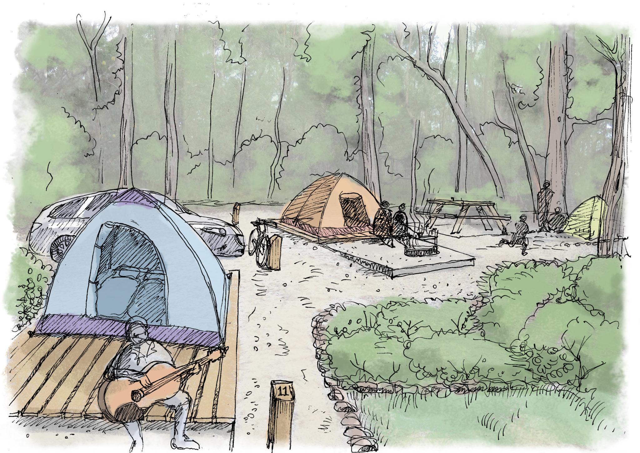 camping platforms copy