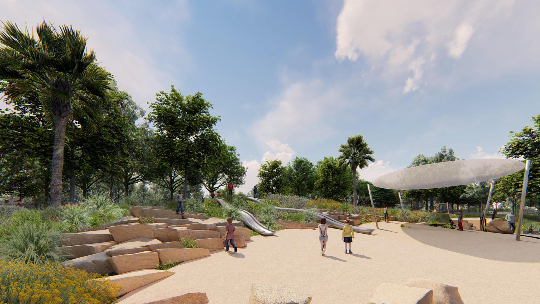 Blenheim Park Slides